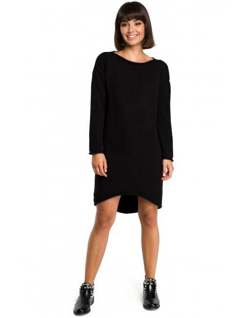 Dámske svetrové šaty BK006 BE