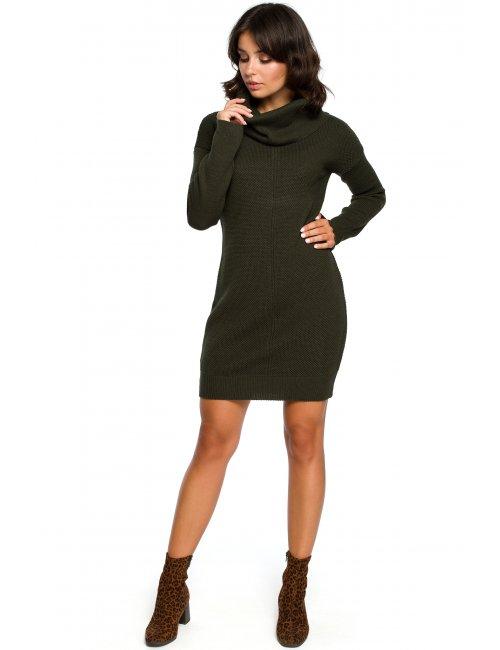 Dámske pletené šaty BK010 BE