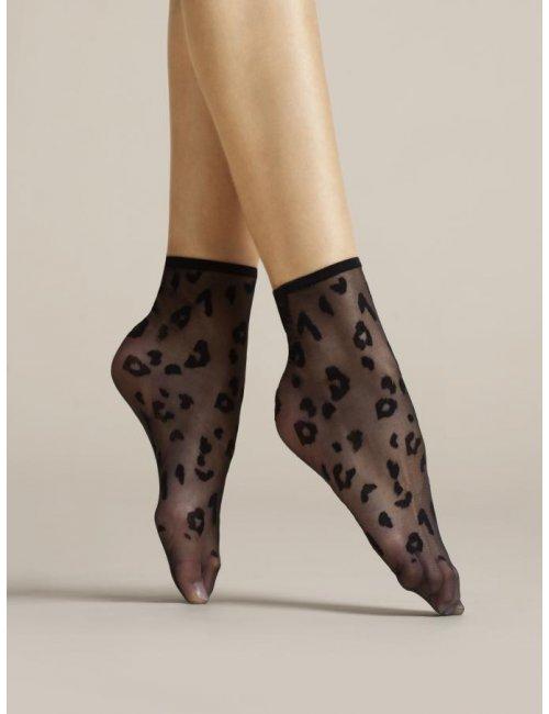 Dámske vzorované ponožky DORIA 8DEN Fiore
