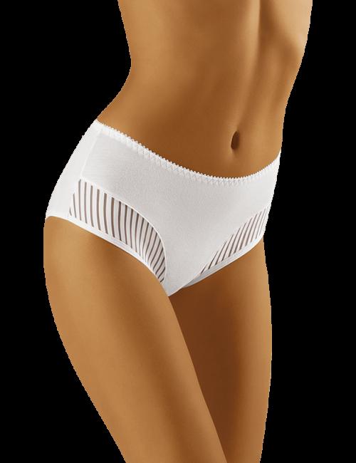 Dámske nohavičky eco-QI Wolbar - biela