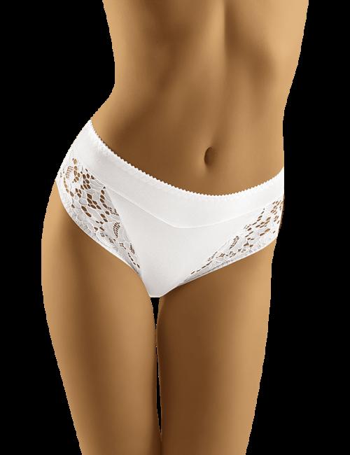 Dámske nohavičky eco-SA Wolbar - biela